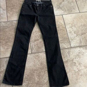 """""""Andrew Charles"""" black jeans size 27 #0248"""